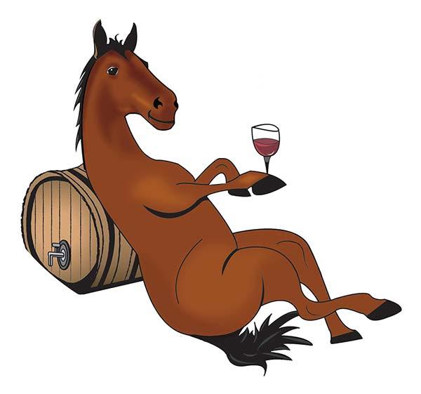Mel the horse mascot